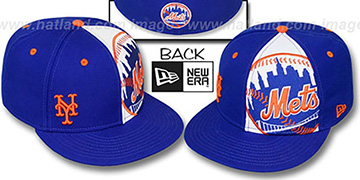 Mets 'MASCOT-ZOOM' Royal Fitted Hat by New Era