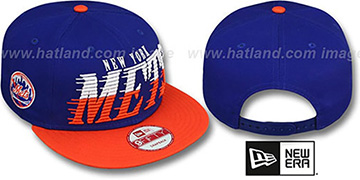 Mets 'SAILTIP SNAPBACK' Royal-Orange Hat by New Era
