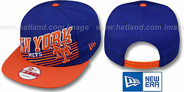 Mets STILL ANGLIN SNAPBACK Royal-Orange Hat by New Era