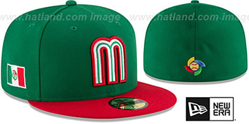 Mexico 'PERFORMANCE WBC-2' HOME Hat by New Era