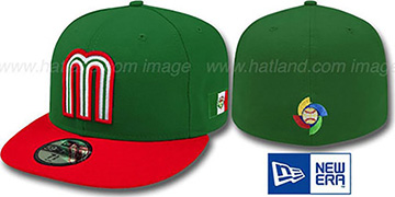 Mexico 'PERFORMANCE WBC' HOME Hat by New Era