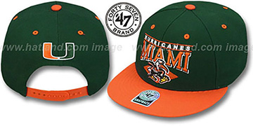 Miami '2T HOLDEN SNAPBACK' Adjustable Hat by Twins 47 Brand