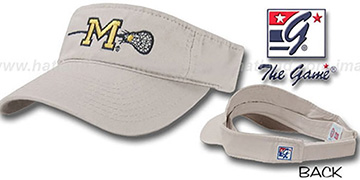 Michigan LACROSSE Visor by the Game - stone