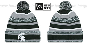 Michigan State NCAA-STADIUM Knit Beanie Hat by New Era