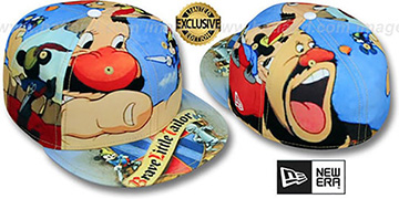 Mickey 'HI-RES BRAVE LITTLE TAILOR' Multi Fitted Hat by New Era