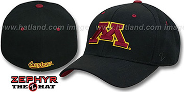 Minnesota DH Fitted Black Hat by ZEPHYR