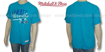 Mitchell & Ness Hornets Fan Vintage Teal T-Shirt