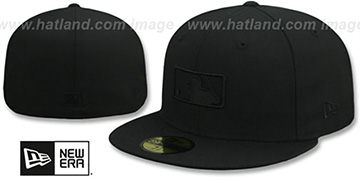 MLB BLACKOUT UMPIRE Fitted Hat by New Era