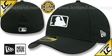 MLB LOW-CROWN UMPIRE Black Hat by New Era