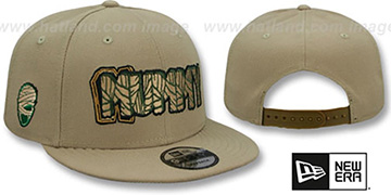 Mummy HALLOWEEN COSTUME SNAPBACK Tan Hat by New Era