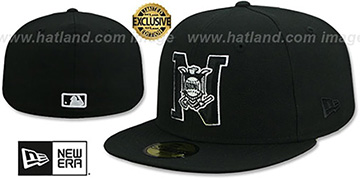 National League 'MLB UMPIRE' Black-White Hat by New Era