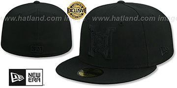 National League MLB UMPIRE BLACKOUT Hat by New Era