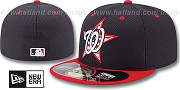 Nationals '2014 JULY 4TH STARS N STRIPES' Hat by New Era