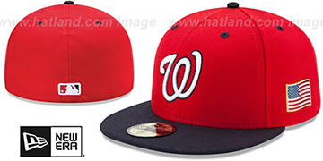 Nationals '2015 STARS-N-STRIPES 911 ALT-2' Hat by New Era