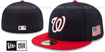Nationals '2015 STARS-N-STRIPES 911 ALT' Hat by New Era
