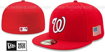 Nationals 2015 STARS-N-STRIPES 911 GAME Hat by New Era