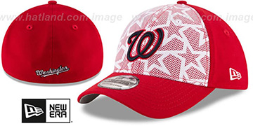 Nationals 2016 JULY 4TH STARS N STRIPES FLEX Hat by New Era