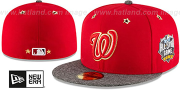 Nationals 2016 MLB ALL-STAR GAME Fitted Hat by New Era