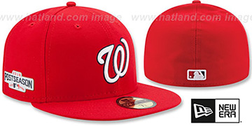 Nationals 2016 PLAYOFF GAME Hat by New Era