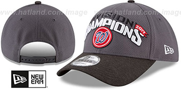 Nationals '2017 DIVISION CHAMPIONS' Hat by New Era
