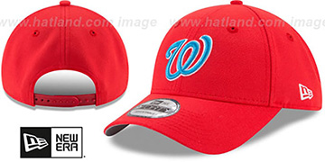 Nationals '2017 LITTLE-LEAGUE 940 SNAPBACK' Red Hat by New Era