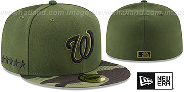 Nationals 2017 MEMORIAL DAY 'STARS N STRIPES' Hat by New Era