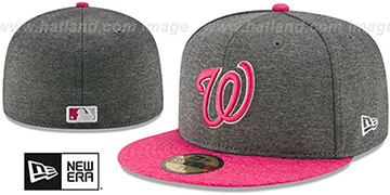Nationals '2017 MOTHERS DAY' Fitted Hat by New Era