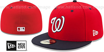 Nationals 2019 AC-ONFIELD ALTERNATE-2 Hat by New Era