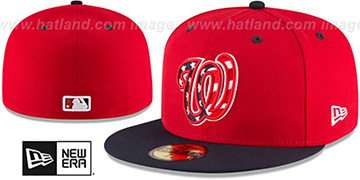 Nationals AC-ONFIELD ALTERNATE-3 Hat by New Era