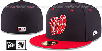 Nationals '2017 ONFIELD ALTERNATE-4' Hat by New Era