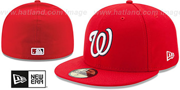 Nationals '2017 ONFIELD GAME' Hat by New Era
