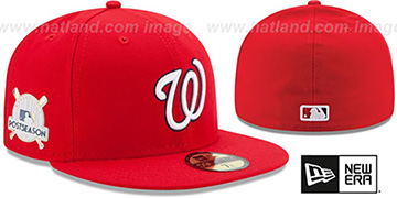 Nationals 2017 POSTSEASON GAME Hat by New Era