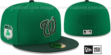 Nationals 2017 ST PATRICKS DAY Hat by New Era