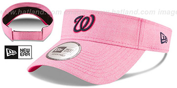 Nationals 2018 MOTHERS DAY VISOR Heather Pink by New Era