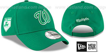 Nationals 2018 'ST PATRICKS DAY' 940 STRAPBACK Hat by New Era