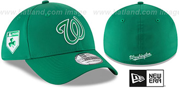 Nationals 2018 ST PATRICKS DAY FLEX Hat by New Era