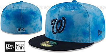 Nationals '2019 FATHERS DAY' Fitted Hat by New Era