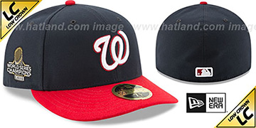 Nationals 2019 LC WORLD SERIES ALTERNATE CHAMPIONS Fitted Hat by New Era