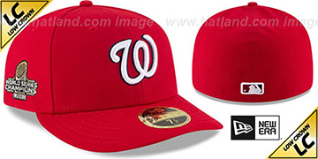 Nationals 2019 LC WORLD SERIES GAME CHAMPIONS Fitted Hat by New Era