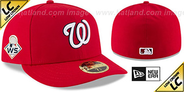 Nationals '2019 LC WORLD SERIES' GAME Fitted Hat by New Era
