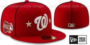Nationals 2019 MLB ALL-STAR GAME Fitted Hat by New Era