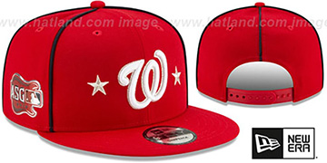 Nationals 2019 MLB ALL-STAR GAME SNAPBACK Hat by New Era