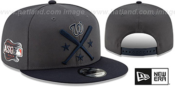 Nationals 2019 MLB ALL-STAR WORKOUT SNAPBACK Hat by New Era