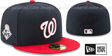 Nationals 2019 WORLD SERIES ALTERNATE Fitted Hat by New Era