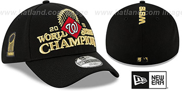 Nationals 2019 WORLD SERIES CHAMPS LOCKER ROOM Flex Hat by New Era