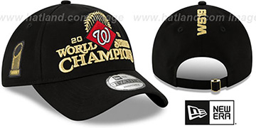 Nationals 2019 WORLD SERIES CHAMPS LOCKER ROOM Strapback Hat by New Era