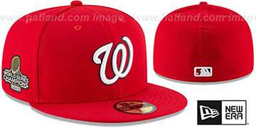 Nationals 2019 WORLD SERIES GAME CHAMPIONS Fitted Hat by New Era
