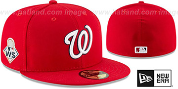 Nationals '2019 WORLD SERIES' GAME Fitted Hat by New Era