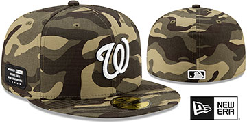 Nationals 2021 ARMED FORCES STARS N STRIPES Hat by New Era