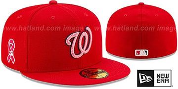Nationals 2021 MOTHERS DAY Fitted Hat by New Era